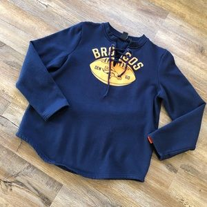 NFL Team Apparel Broncos Navy sweatshirt